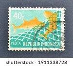 Indonesia   Circa 1969  ...