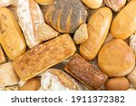 Many Kinds Of Bread And Buns...