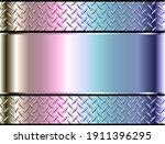 background silver metallic  3d...   Shutterstock .eps vector #1911396295