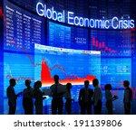 global economic crisis | Shutterstock . vector #191139806