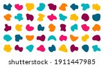 random blotches and abstract... | Shutterstock .eps vector #1911447985