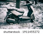 Abandoned Scooter After A...