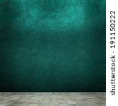 grunge empty room interior | Shutterstock . vector #191150222