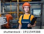 Industrial production. portrait ...