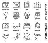 love icons vector illustration  ... | Shutterstock .eps vector #1911595945