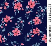seamless spring floral pattern... | Shutterstock .eps vector #1911611275