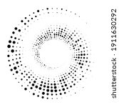 dots  circles spiral  swirl ... | Shutterstock .eps vector #1911630292