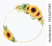 Sunflowers Frames  Geometry...