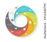 vector circle infographic...   Shutterstock .eps vector #1911640795
