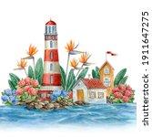 Watercolor Portuguese...