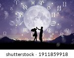 Astrological zodiac signs...