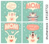 Greeting Card For Mom With Cut...
