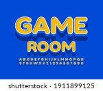 vector entertainment logo game... | Shutterstock .eps vector #1911899125