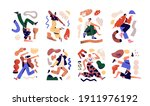 set of young creative people...   Shutterstock .eps vector #1911976192
