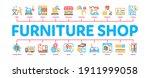 furniture shop market minimal... | Shutterstock .eps vector #1911999058