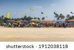 Goa  India   January  4  A Hot...