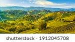 Langhe Vineyards Landscape And...