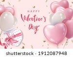 valentine's day poster...   Shutterstock .eps vector #1912087948