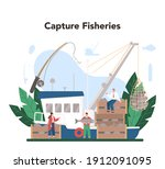 Industrial Fishing Concept....