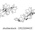vector illustration of floral... | Shutterstock .eps vector #1912104415