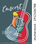 artistic poster artwork for... | Shutterstock .eps vector #1912106788