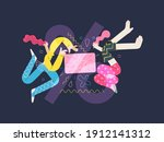 discounts sale promotion... | Shutterstock .eps vector #1912141312