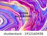 fluid art texture. abstract...   Shutterstock .eps vector #1912160458