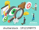 3d isometric flat vector... | Shutterstock .eps vector #1912198975