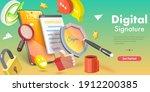 3d isometric flat vector... | Shutterstock .eps vector #1912200385