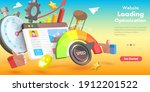 3d isometric flat vector... | Shutterstock .eps vector #1912201522