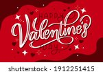 valentines day background with...   Shutterstock .eps vector #1912251415
