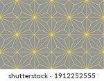 illuminating yellow and... | Shutterstock .eps vector #1912252555