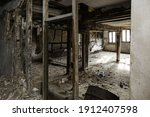 Interior Abandoned Town House ...