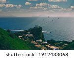 Cape Miseno Is The Headland...