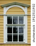Rectangular Window With A White ...