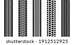 tire trace track  wheels... | Shutterstock .eps vector #1912512925