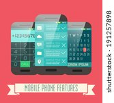 smartphone features...