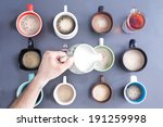 time for a coffee break for... | Shutterstock . vector #191259998