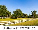 Beautiful White Picket Fence...