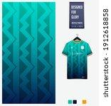 fabric pattern design.... | Shutterstock .eps vector #1912618858