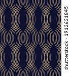 geometric abstract pattern.... | Shutterstock .eps vector #1912631845