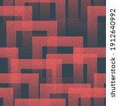 vector stippled weird trendy... | Shutterstock .eps vector #1912640992