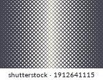 rhombus halftone pattern vector ... | Shutterstock .eps vector #1912641115
