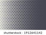 triangles halftone pattern... | Shutterstock .eps vector #1912641142
