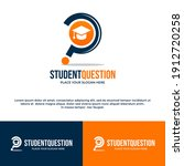 student question vector logo... | Shutterstock .eps vector #1912720258
