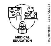 medical education literature...   Shutterstock .eps vector #1912722235