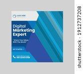 modern social media post design | Shutterstock .eps vector #1912737208