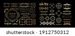 antique decorative materials ... | Shutterstock .eps vector #1912750312