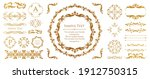 antique decorative materials ... | Shutterstock .eps vector #1912750315