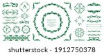 antique decorative materials ... | Shutterstock .eps vector #1912750378